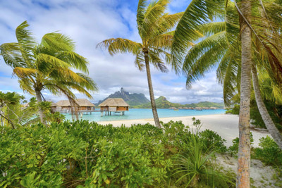 beach villas bora bora