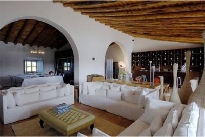 Interior of the Malhadinha Nova, Portugal