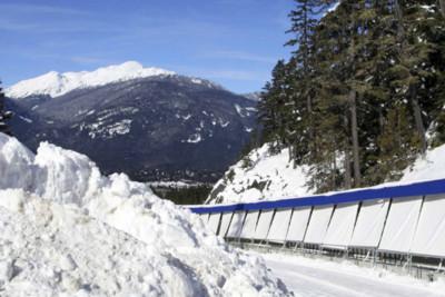 Cresta run track