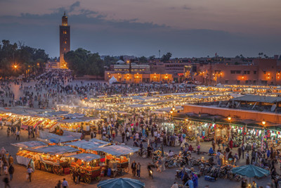 The heart of the Marrakech