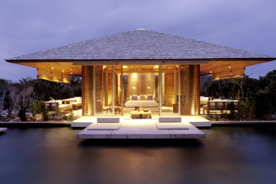 Amanyara Villa at Night