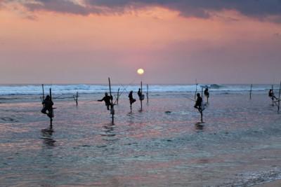 Romantic Sri Lanka Sunset
