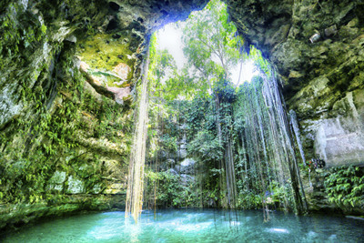 Cenotes in Mexico