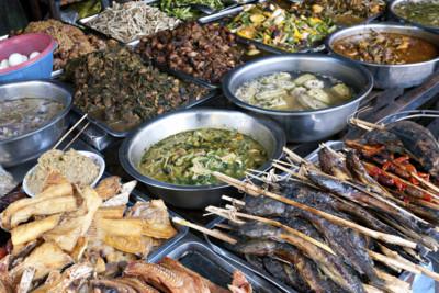 phnom penh food market