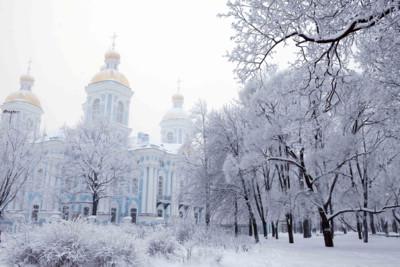 Winter in St Petersburg
