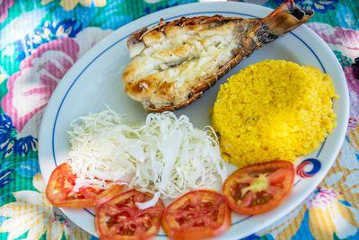 Lobster plate, Cuba
