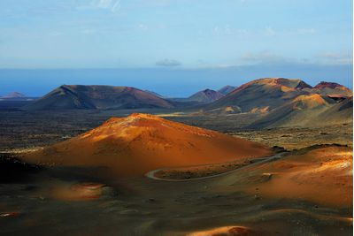 Lanzarote mountains