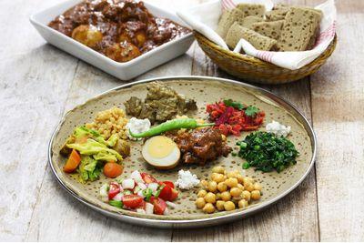 Ethiopian injera