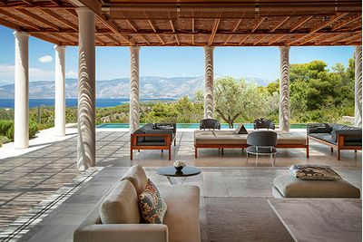 Amanzoe hotel, Greece