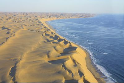 The Skeleton Coast from Above