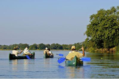 Canoeing Safari, Zimbabwe