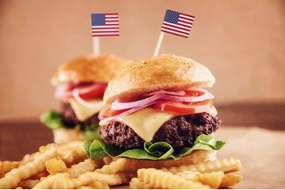 An American Hamburger, USA