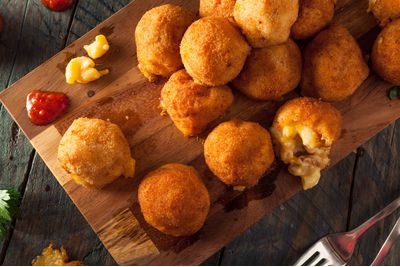 mac and cheese bites, USA