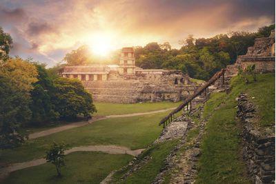 Mayan ruins, Palenque Mexico