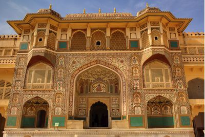 A beautiful building in Rajasthan
