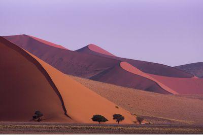 Namibia desert sand dunes