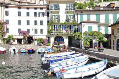 Boat in an Italian Lake