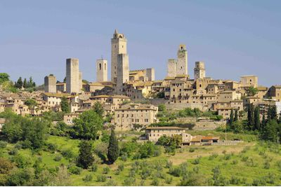 Tuscany village view