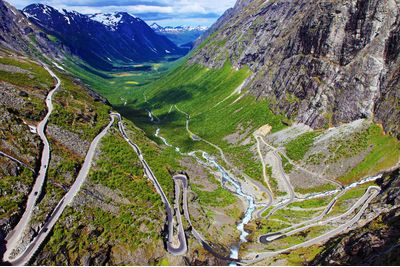 the Trollstigen Mountain Road