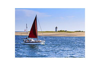 sailing in new england
