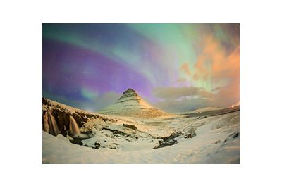 iceland mountain and sky