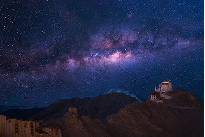 ladakh starry sky at night