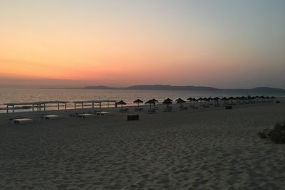 sunset on comporta beach
