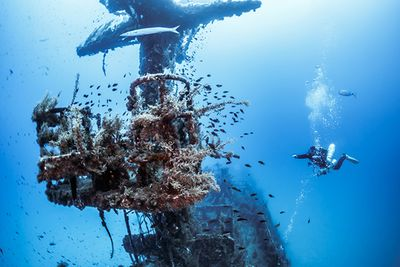 shipwreck diving in Gozo