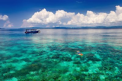 snorkelling in indonesia