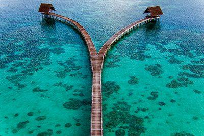 bawah island jetty