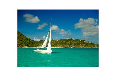 sailing in antigua