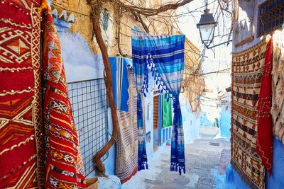 rugs in chefchaouen