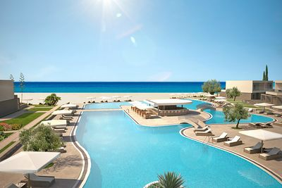 sani dunes swimming pool
