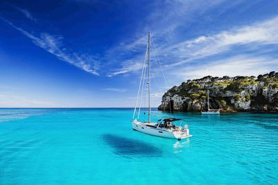 Sailing in the Ionian Sea