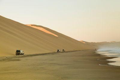 sand dunes of Swakopmund