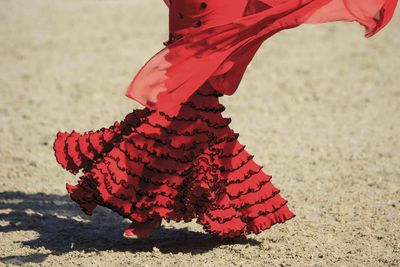 Flamenco dancing