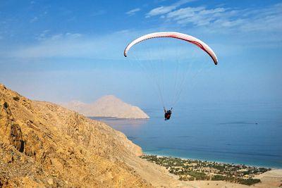 Paragliding, Zighy Bay
