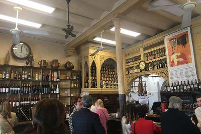 A tapas bar in Seville