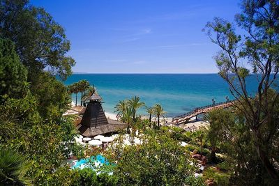 Marbella Club beach view