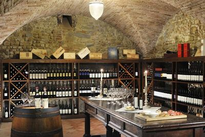 castello del nero wine cellar