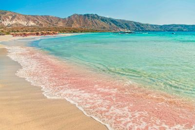 elafonisi pink beach