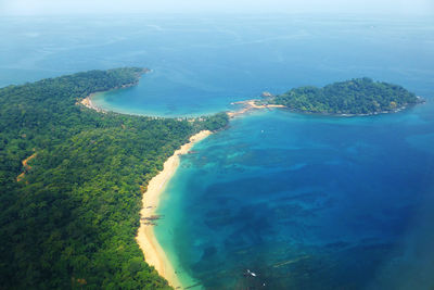 Principe Island aerial