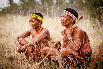 bushmen ladies