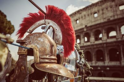 helmet in rome