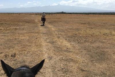 Riding in Laikipia