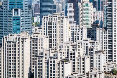 apartment buildings in shanghai