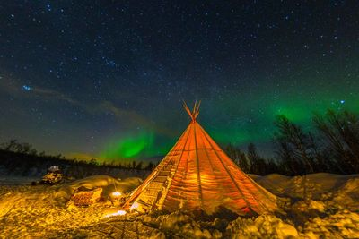 glamping laponia sweden