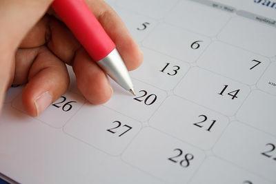 calendar planning sabbatical