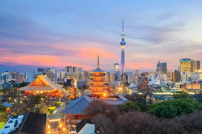 tokyo skyline lost in translation