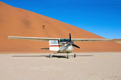 Privately Guided Safari Plane Namibia